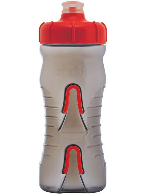 Fabric Cageless Bottle 600ml black/red